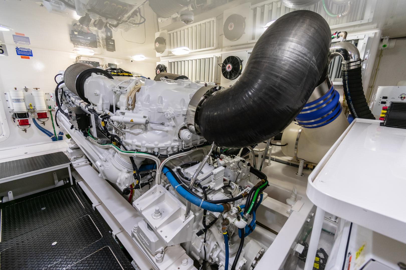 Viking-70 Convertible 2014-Load N Go Port Aransas-Texas-United States-2014 70 Viking Load N Go Engine Room (12)-1380591 | Thumbnail