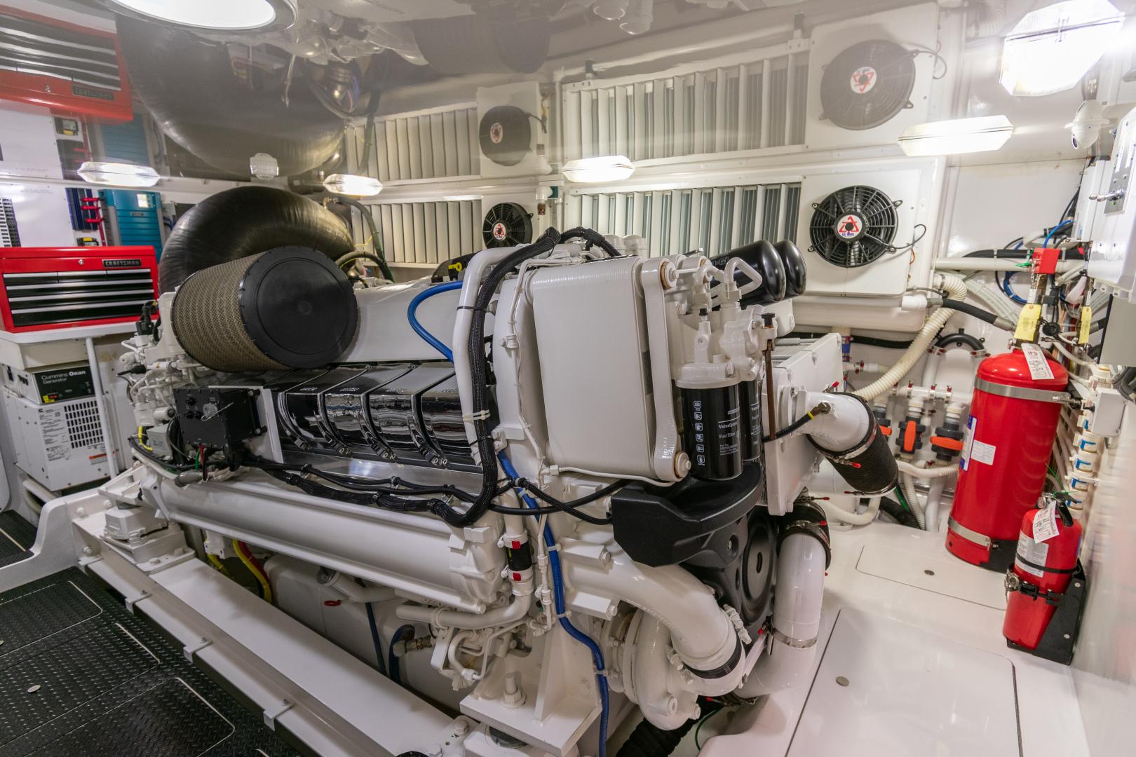 Viking-70 Convertible 2014-Load N Go Port Aransas-Texas-United States-2014 70 Viking Load N Go Engine Room (5)-1380565 | Thumbnail