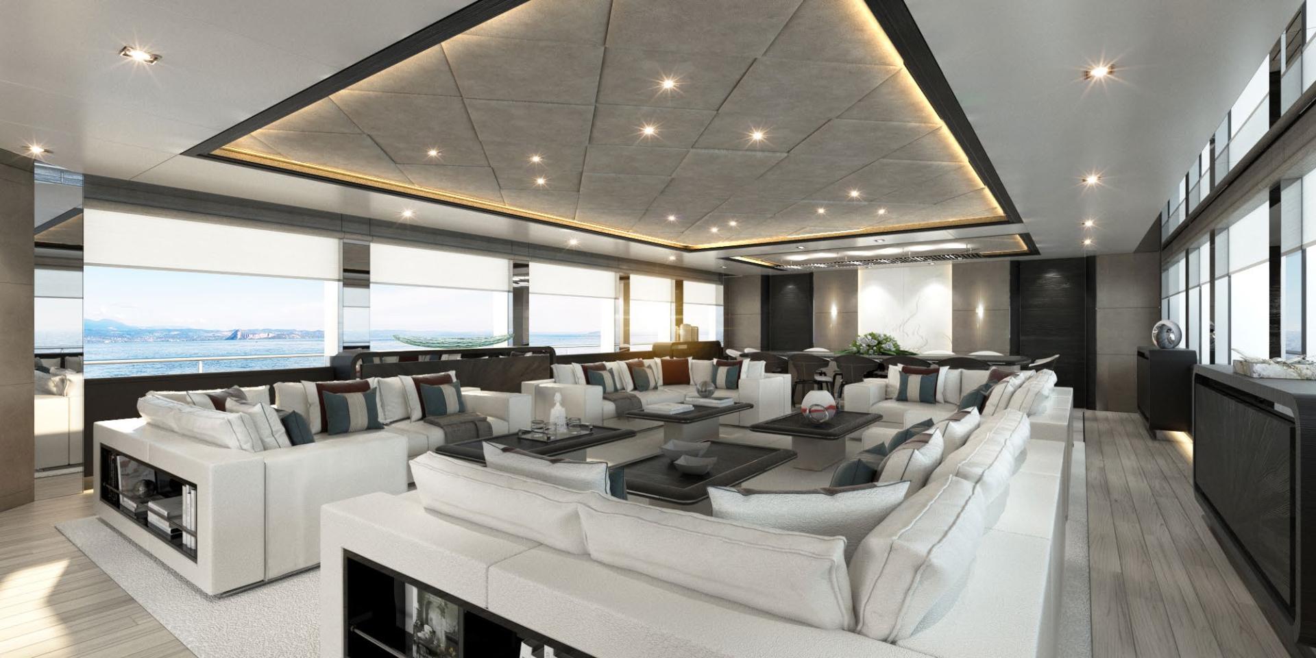 Majesty Yachts-Tri-Deck 2020-MAJESTY 175 United Arab Emirates-Main Salon-1376221 | Thumbnail