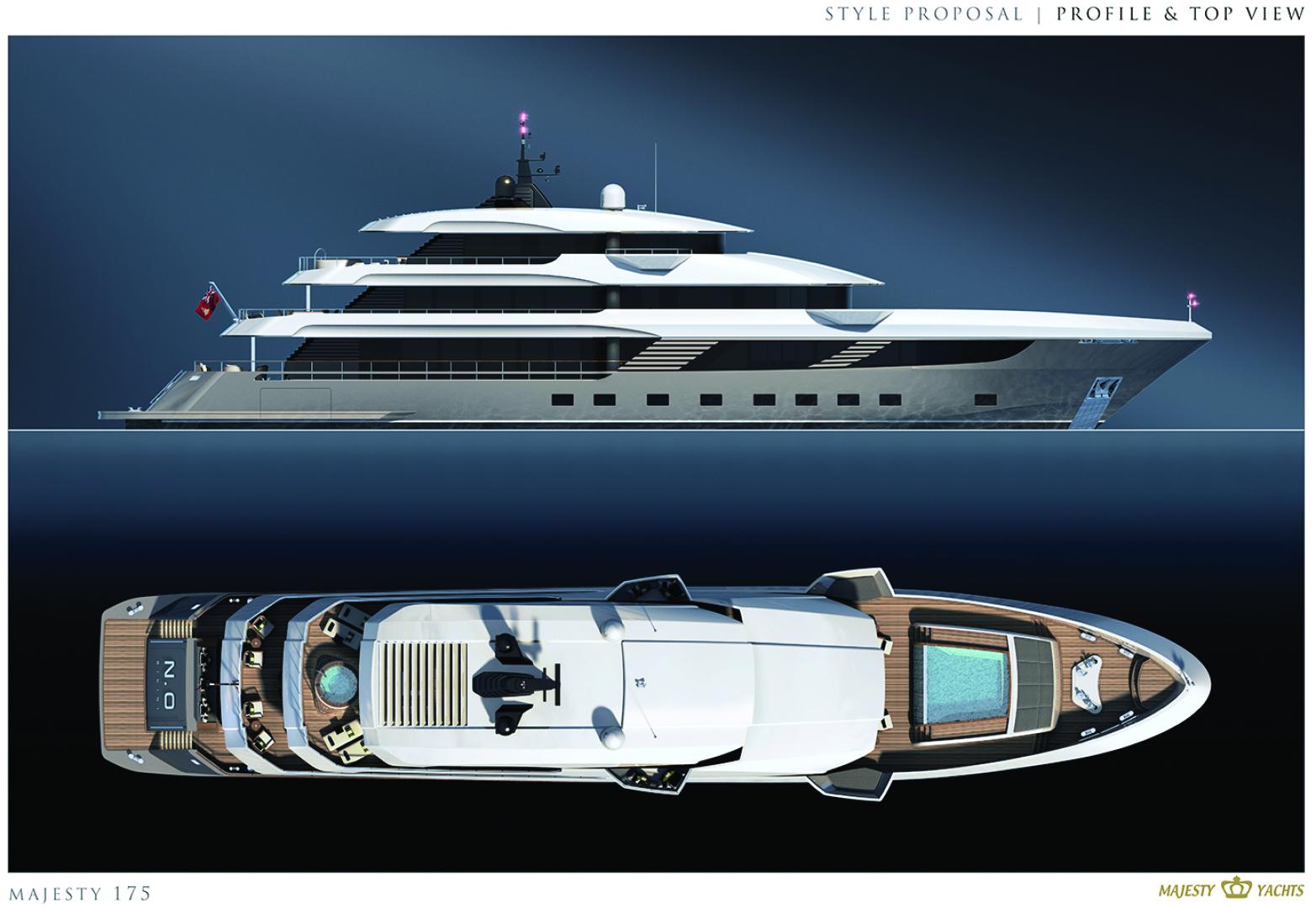 Majesty Yachts-Tri-Deck 2020-MAJESTY 175 United Arab Emirates-1376226 | Thumbnail