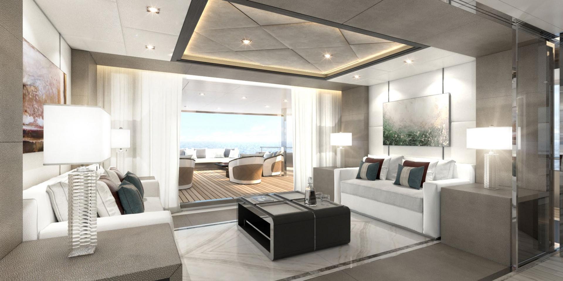 Majesty Yachts-Tri-Deck 2020-MAJESTY 175 United Arab Emirates-Sky Lounge-1376225 | Thumbnail