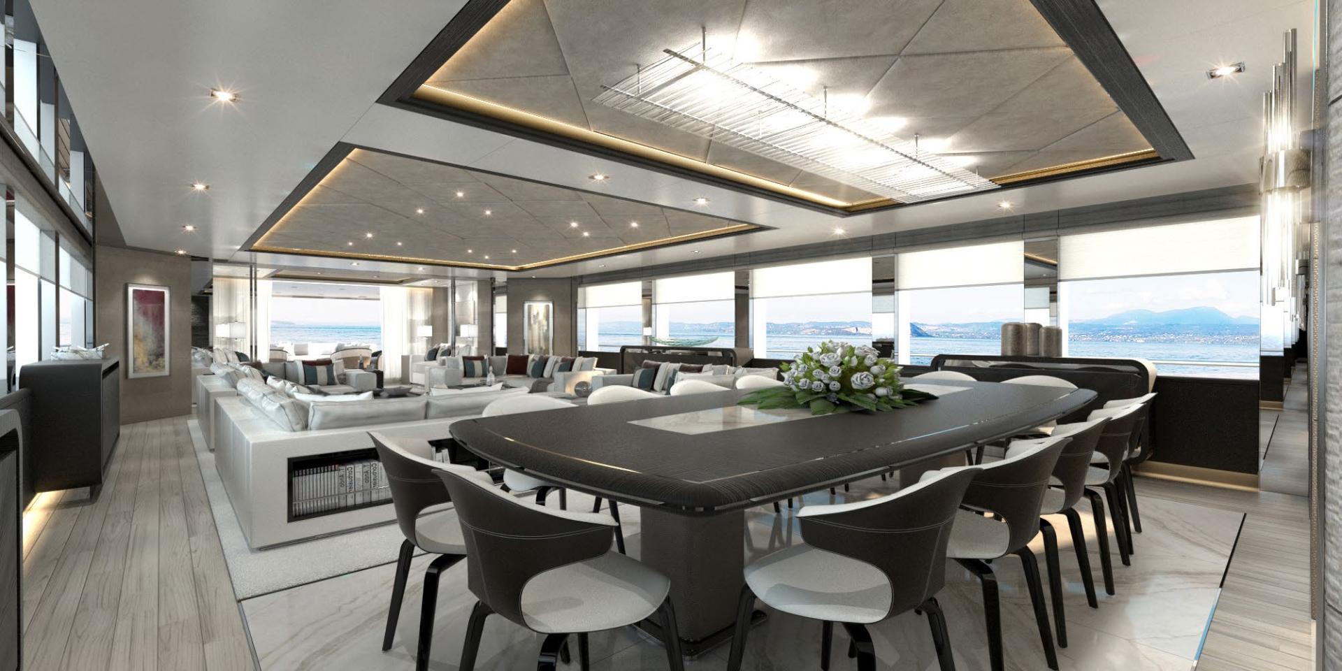 Majesty Yachts-Tri-Deck 2020-MAJESTY 175 United Arab Emirates-Formal Dining-1376223 | Thumbnail