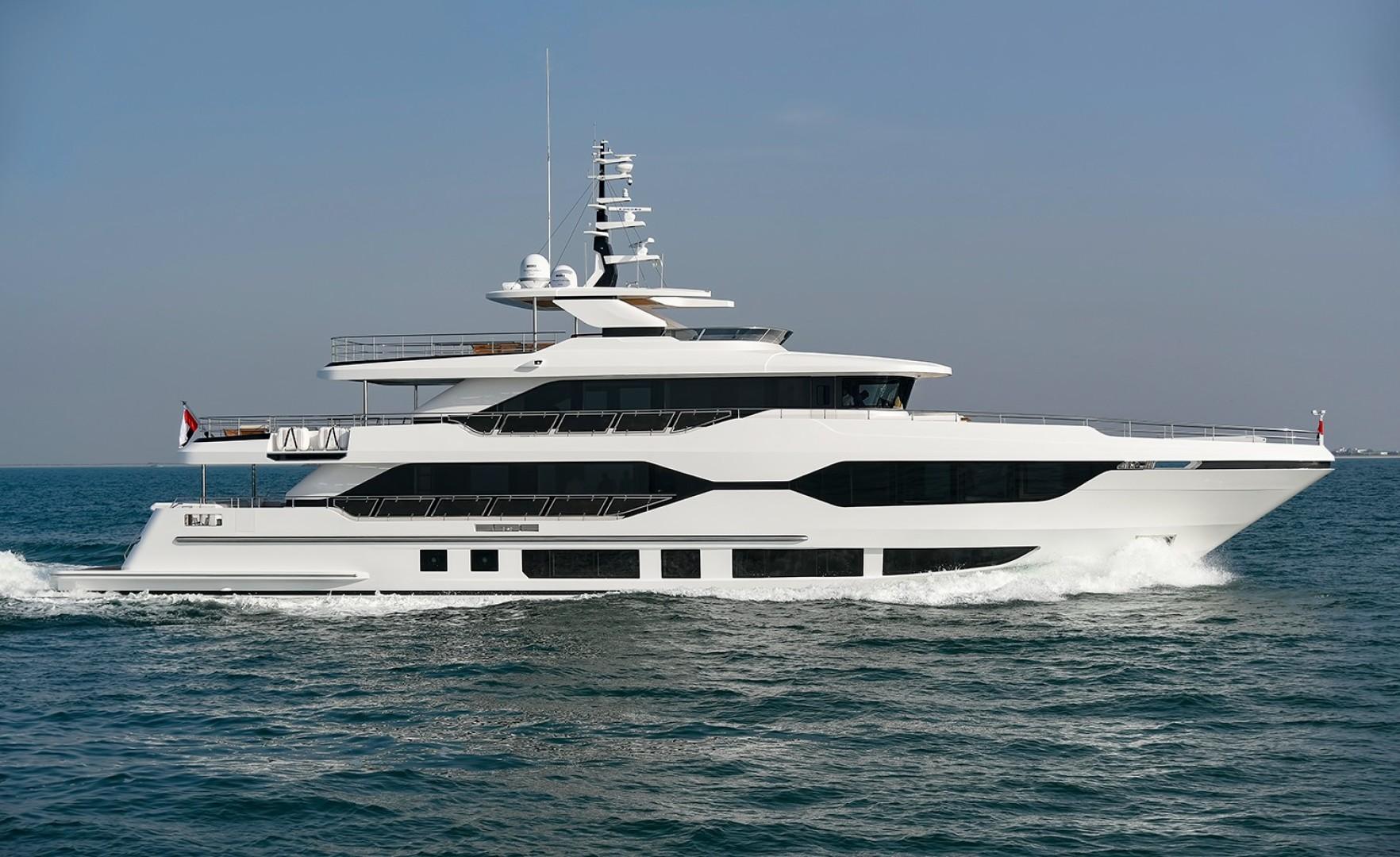 MAJESTY 120 is a Majesty Yachts Raised Pilothouse Yacht For Sale-Profile-0