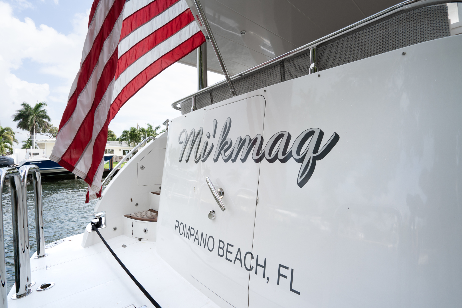 Hampton-650 Pilothouse 2018-MIKMAQ Pompano Beach-Florida-United States-1382278 | Thumbnail