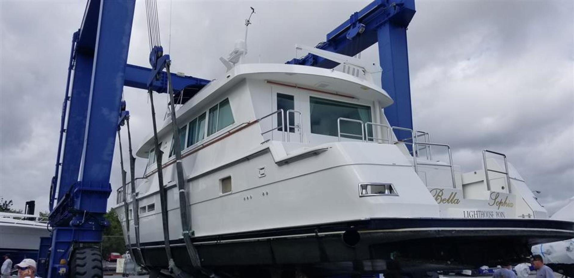 Hatteras-Cockpit Motor Yacht 1989-Carolina Wind Charleston-South Carolina-United States-1382858 | Thumbnail