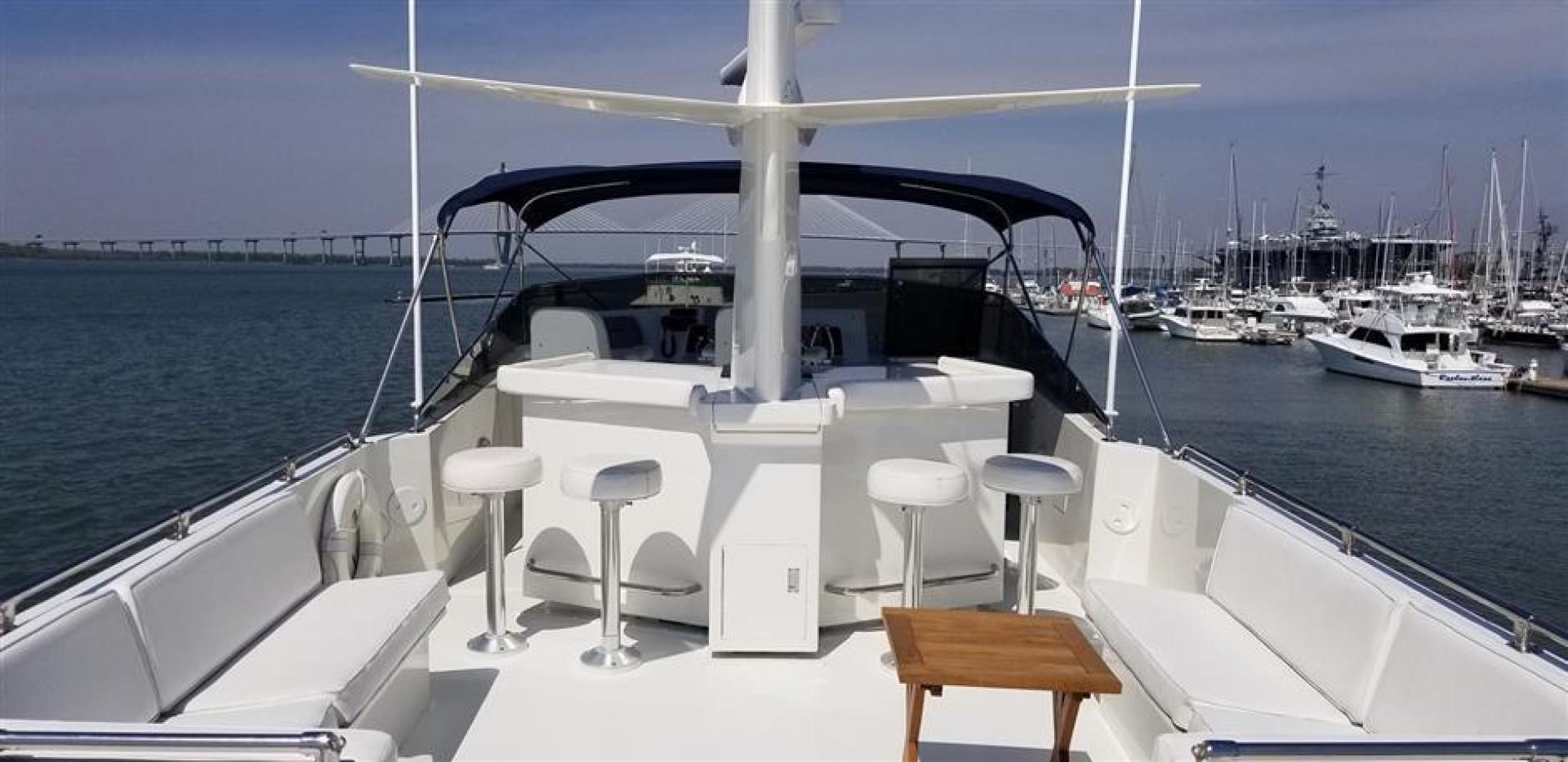 Hatteras-Cockpit Motor Yacht 1989-Carolina Wind Charleston-South Carolina-United States-1382854 | Thumbnail