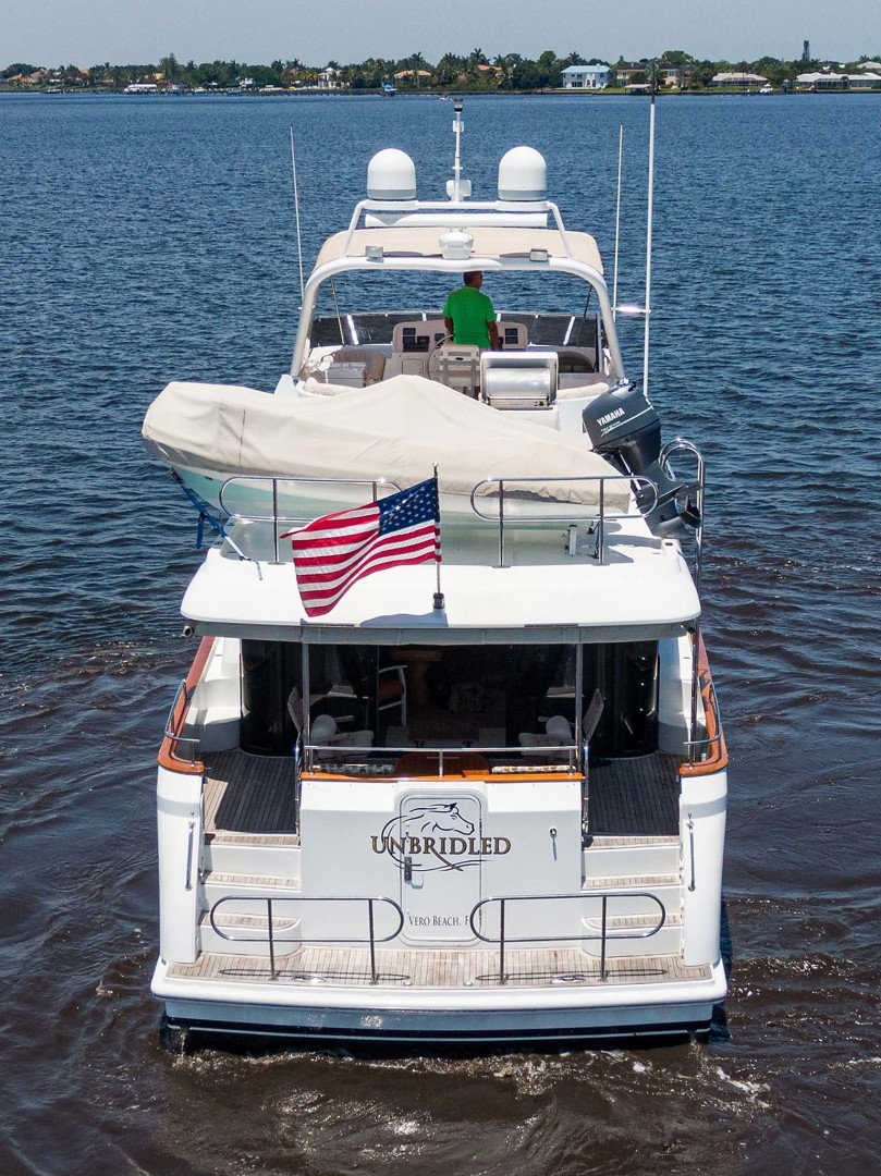 Queenship-Pilothouse Motor Yacht 1996-UNBRIDLED Stuart-Florida-United States-Stern View-1383348 | Thumbnail