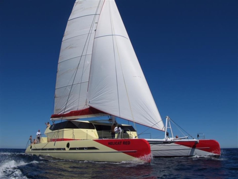 "2010 Fountaine Pajot 77' Catamaran ""Helicat Red"""