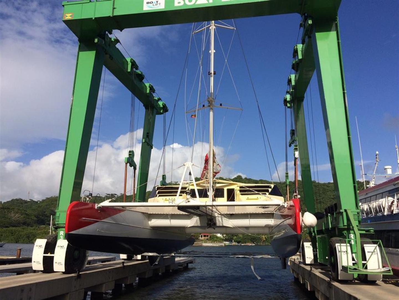Fountaine Pajot-Catamaran 2010-Helicat Red Saint Georges-Grenada-1384109   Thumbnail