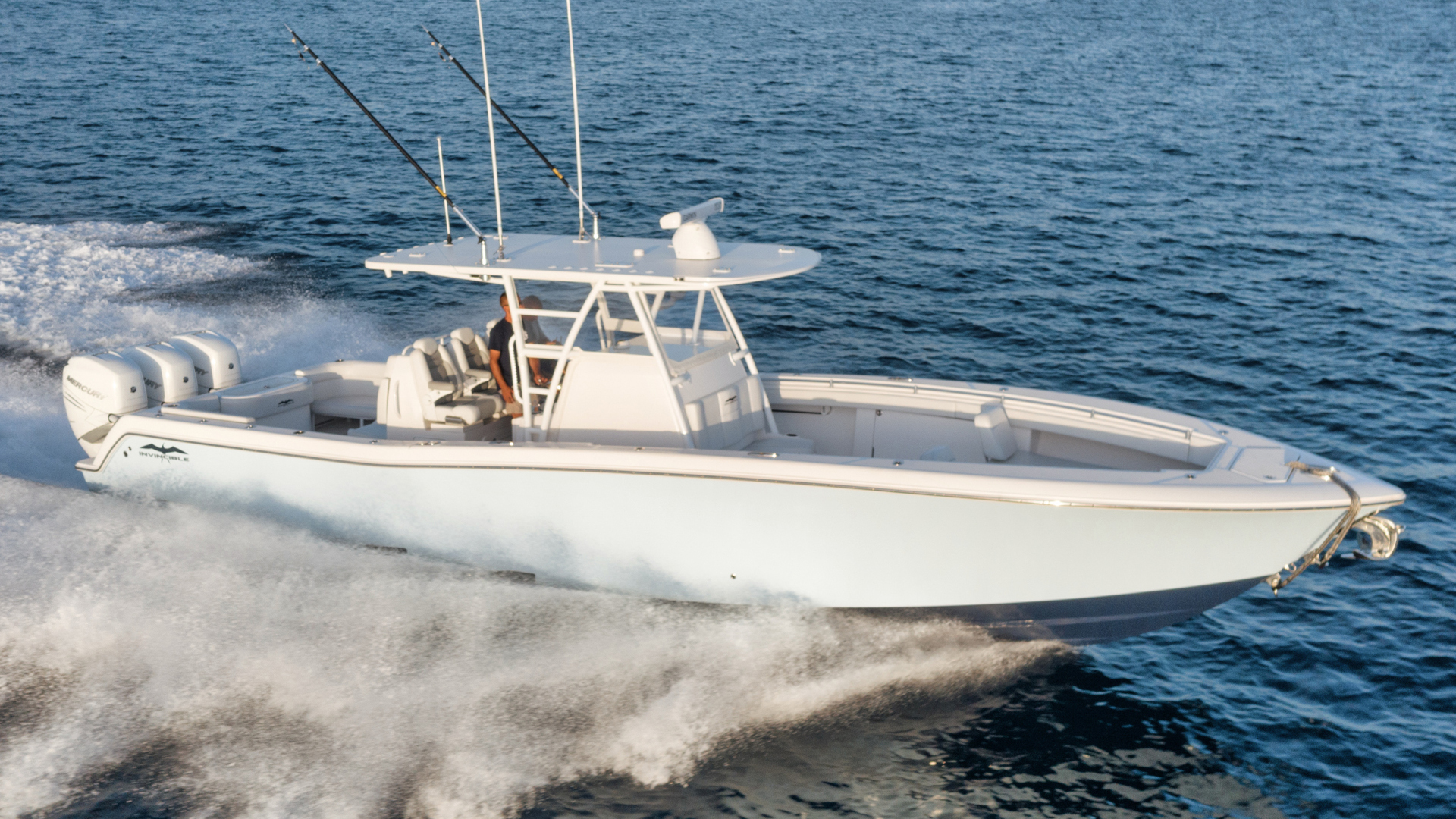 "2019 Invincible 39' 39 Open Fisherman ""T/T Short Story"""