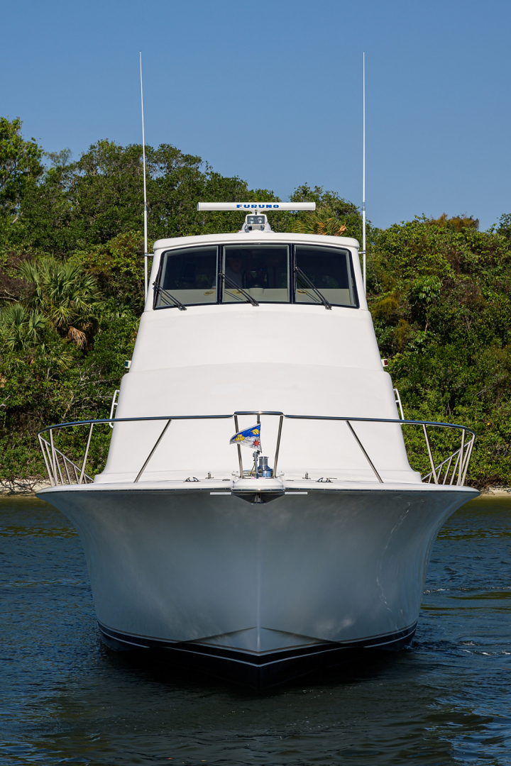 Ocean Yachts-Odyssey 2005-MISS JAN Palm Beach Gardens-Florida-United States-Bow Profile-1387053 | Thumbnail