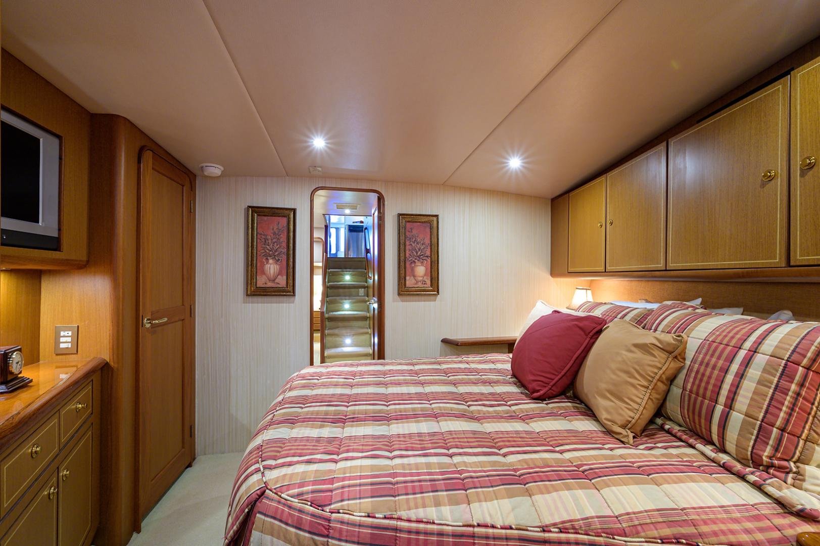 Ocean Yachts-Odyssey 2005-MISS JAN Palm Beach Gardens-Florida-United States-Forward Stateroom-1386909 | Thumbnail