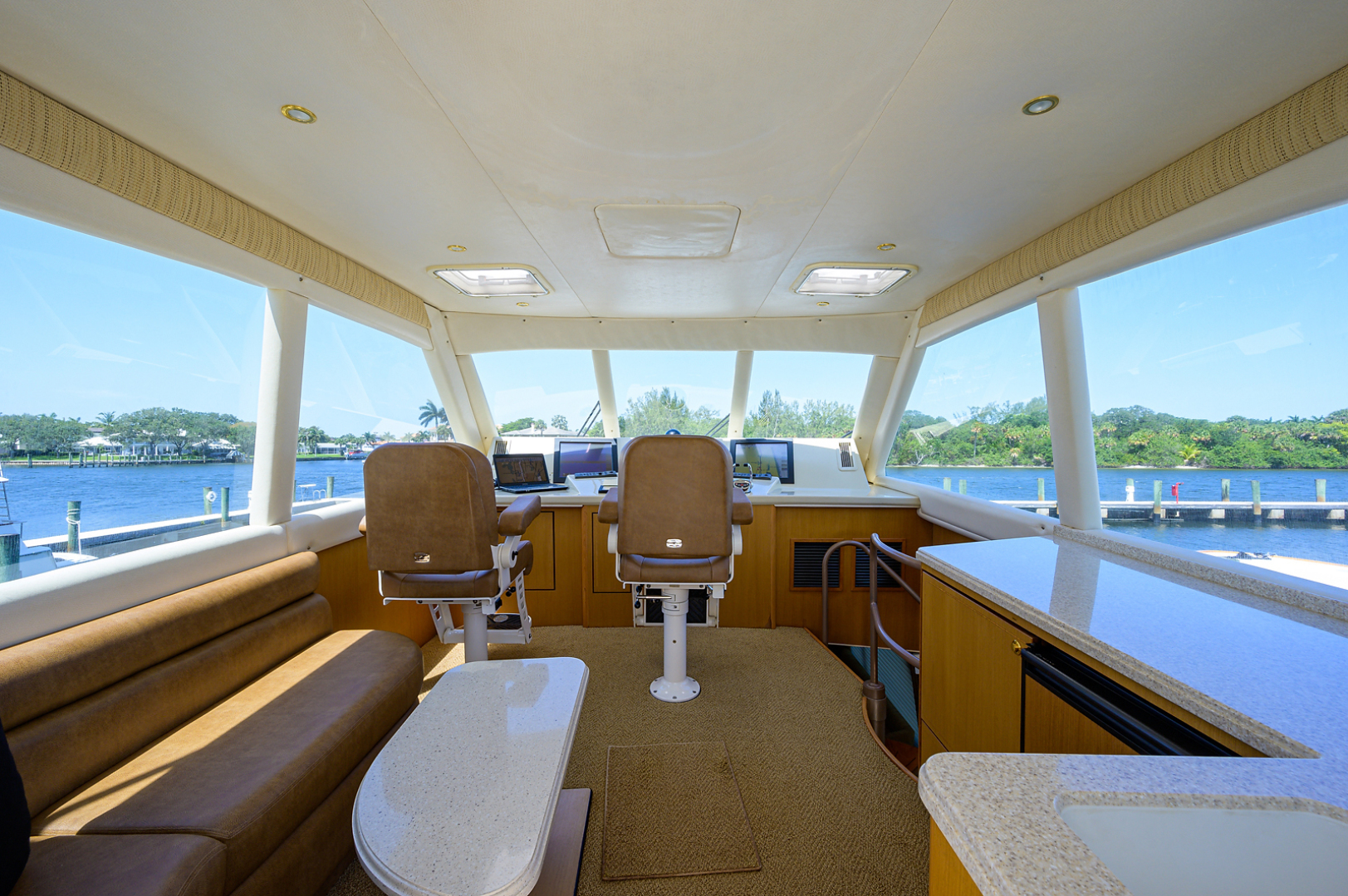 Ocean Yachts-Odyssey 2005-MISS JAN Palm Beach Gardens-Florida-United States-Enclosed Flybridge-1386984 | Thumbnail