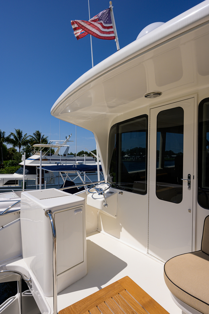 Ocean Yachts-Odyssey 2005-MISS JAN Palm Beach Gardens-Florida-United States-Enclosed Flybridge Aft Deck-1387034 | Thumbnail