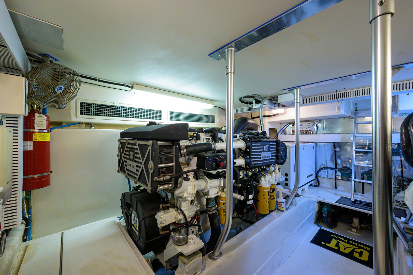 Ocean Yachts-Odyssey 2005-MISS JAN Palm Beach Gardens-Florida-United States-Engine Room-1387046 | Thumbnail