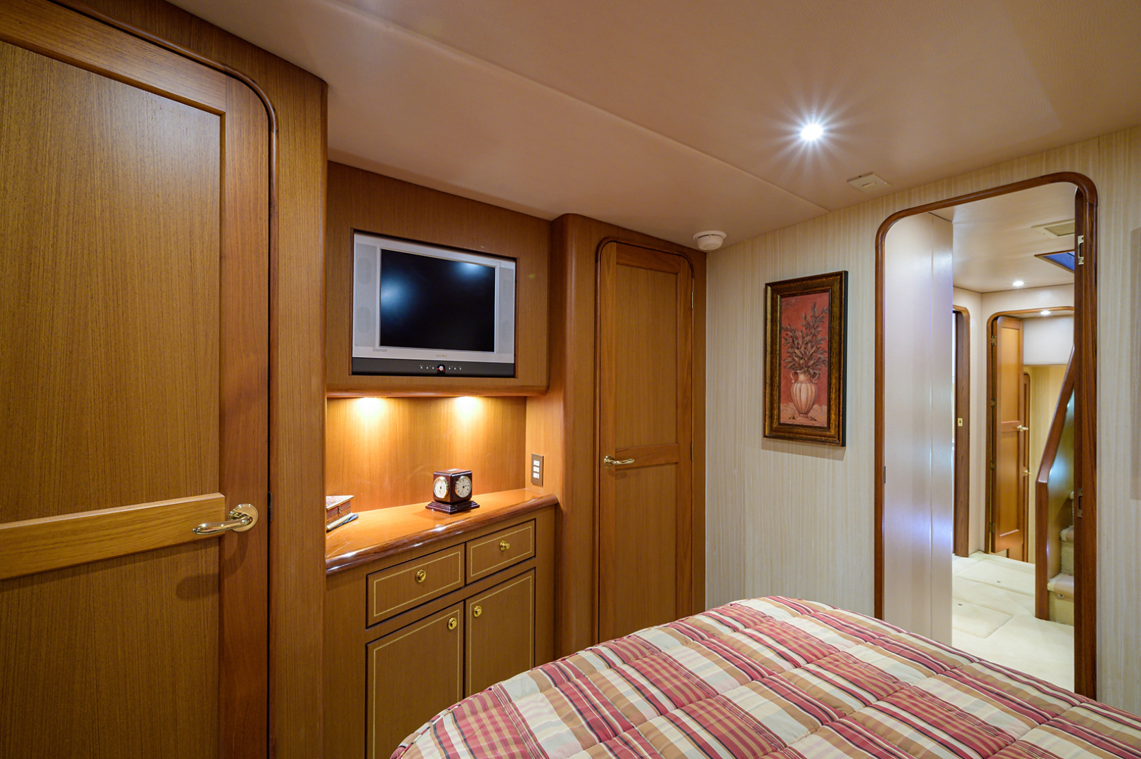 Ocean Yachts-Odyssey 2005-MISS JAN Palm Beach Gardens-Florida-United States-Forward Stateroom-1386910 | Thumbnail