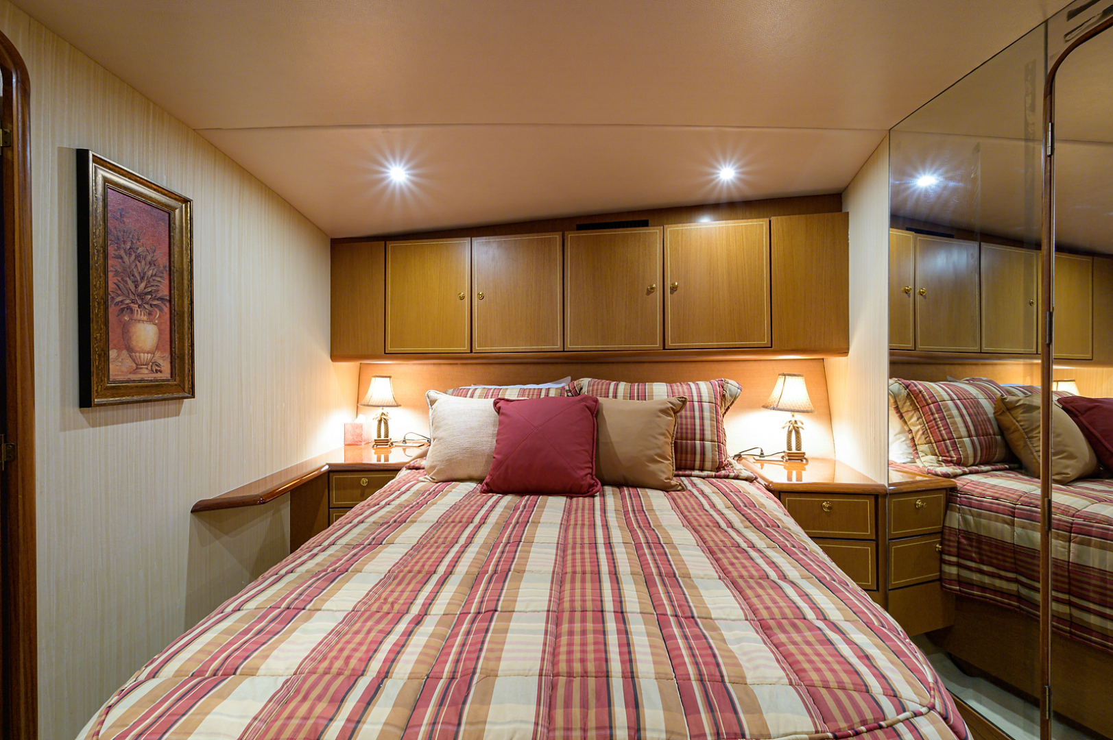 Ocean Yachts-Odyssey 2005-MISS JAN Palm Beach Gardens-Florida-United States-Forward Stateroom-1386907 | Thumbnail