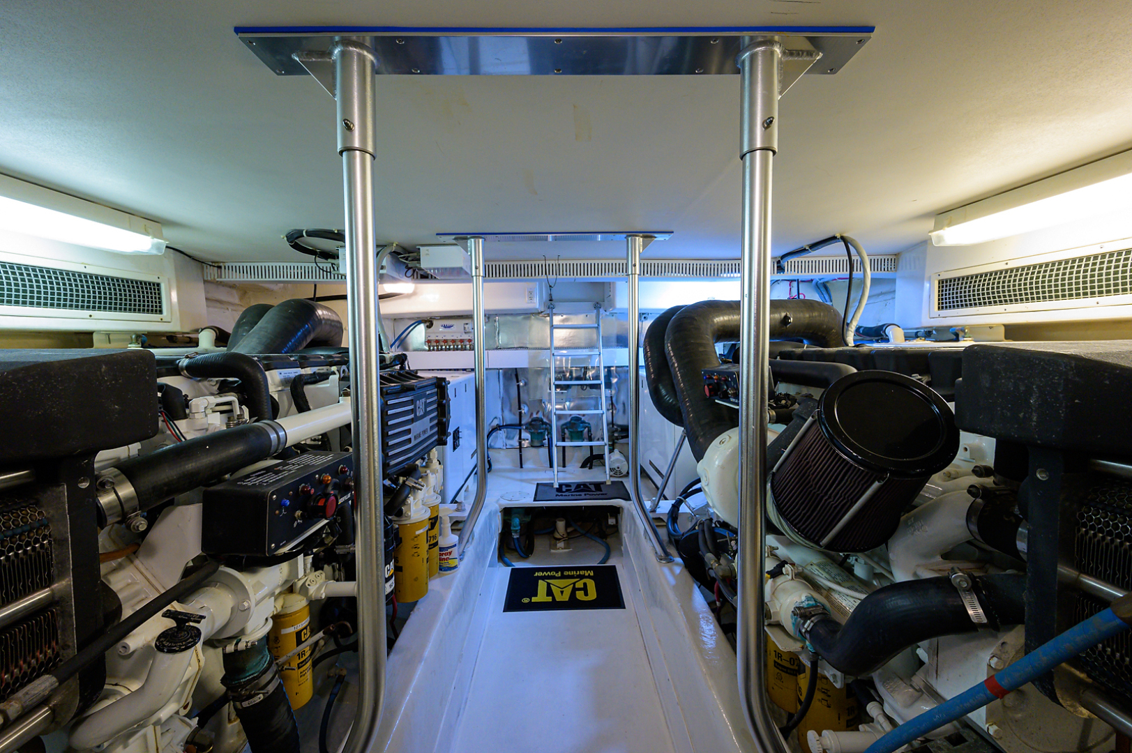 Ocean Yachts-Odyssey 2005-MISS JAN Palm Beach Gardens-Florida-United States-Engine Room-1387045 | Thumbnail