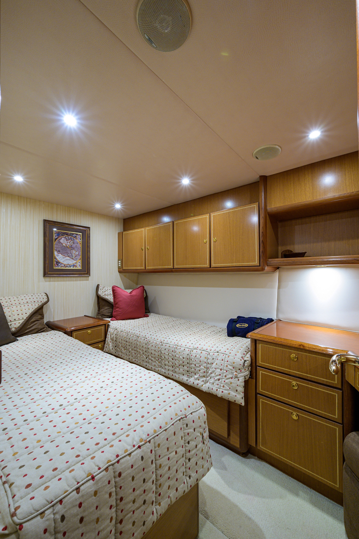 Ocean Yachts-Odyssey 2005-MISS JAN Palm Beach Gardens-Florida-United States-Guest Stateroom-1386980 | Thumbnail