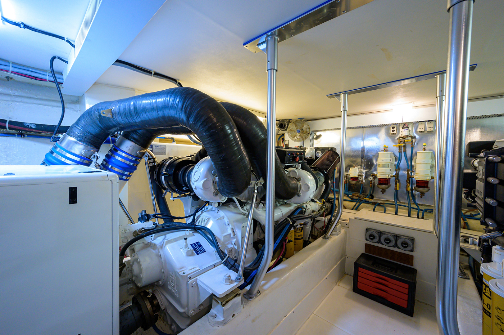 Ocean Yachts-Odyssey 2005-MISS JAN Palm Beach Gardens-Florida-United States-Engine Room-1387047 | Thumbnail