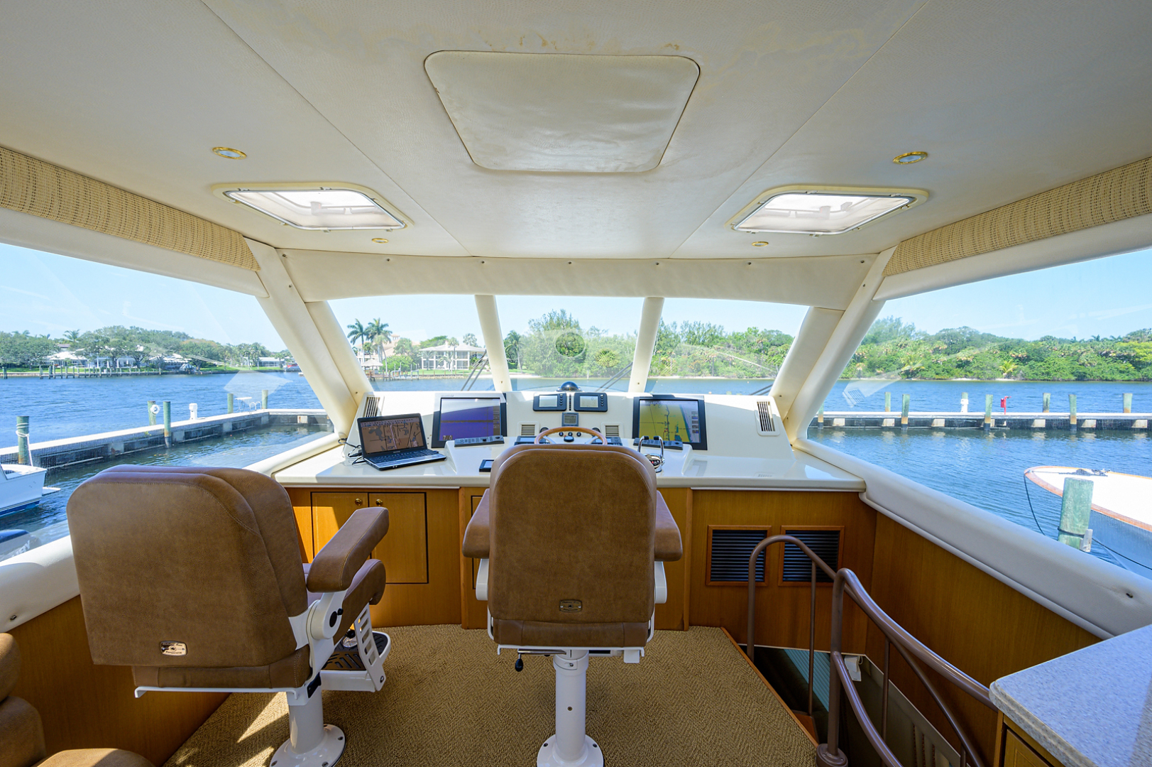 Ocean Yachts-Odyssey 2005-MISS JAN Palm Beach Gardens-Florida-United States-Enclosed Flybridge-1386990 | Thumbnail