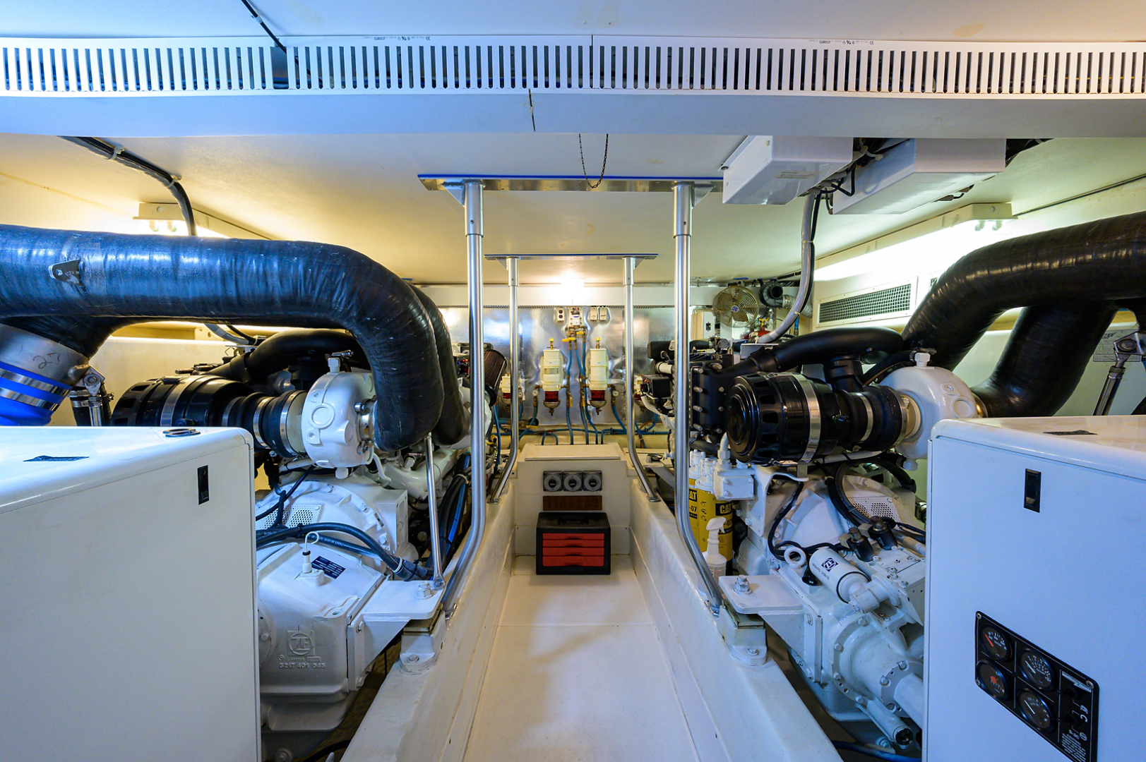 Ocean Yachts-Odyssey 2005-MISS JAN Palm Beach Gardens-Florida-United States-Engine Room-1387048 | Thumbnail