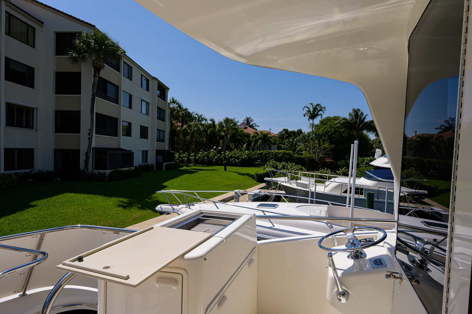 Ocean Yachts-Odyssey 2005-MISS JAN Palm Beach Gardens-Florida-United States-Enclosed Flybridge Aft Deck-1387035 | Thumbnail