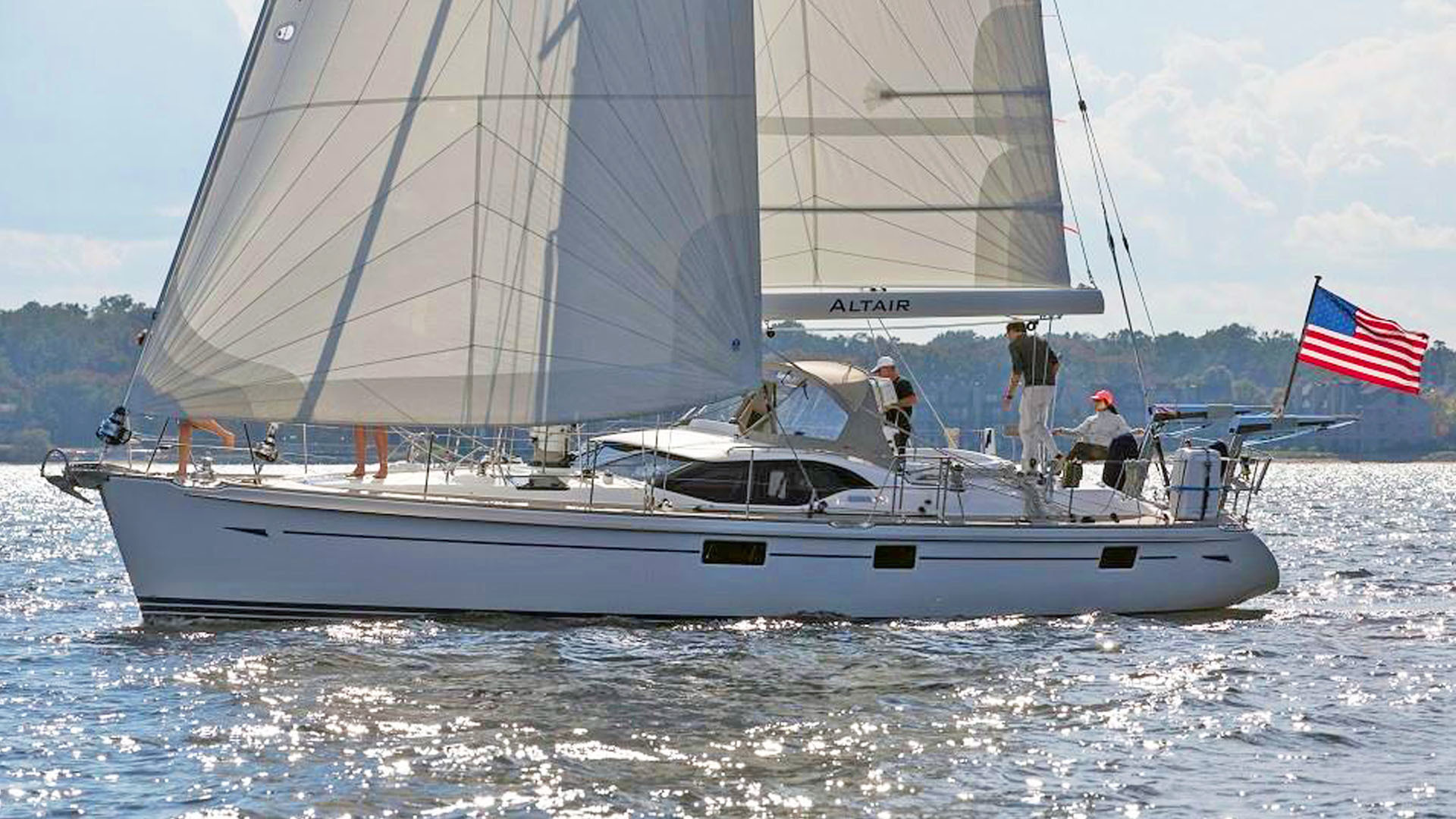 """2015 Oyster 48' 475 """"ALTAIR"""""""