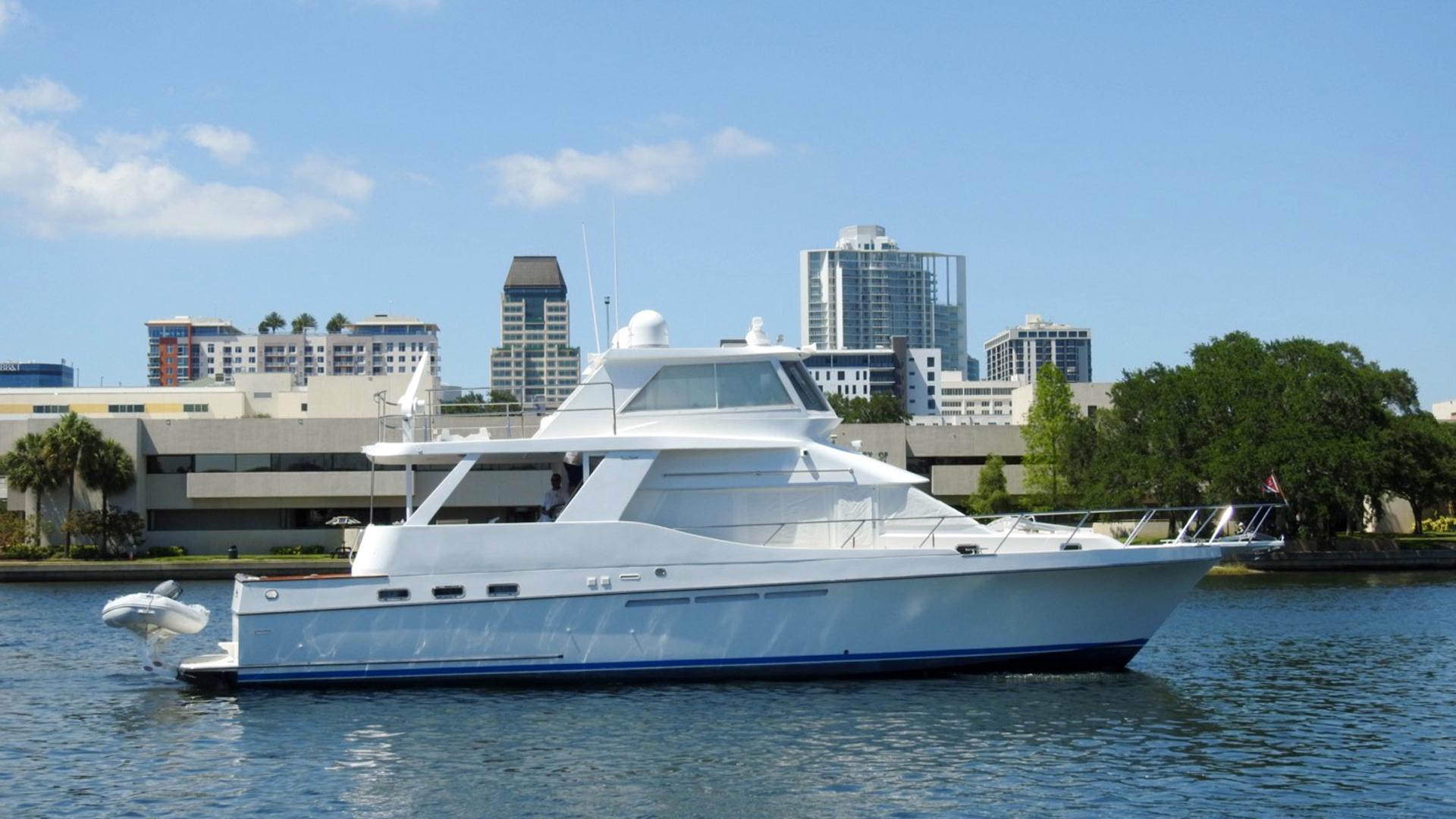 "1998 Ocean Alexander 54' Yachtfish Command Bridge ""Melodious"""