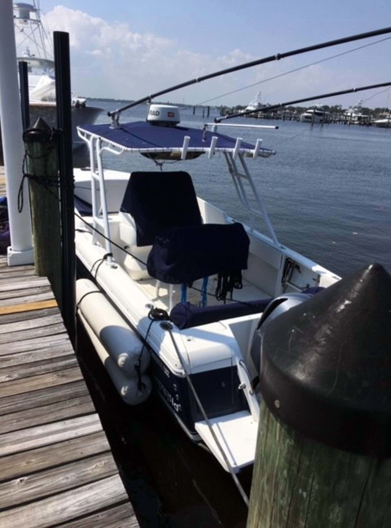 Intrepid-323 Cuddy Cabin 2004 -Stuart-Florida-United States-Port Aft Side At Dock-1391202 | Thumbnail