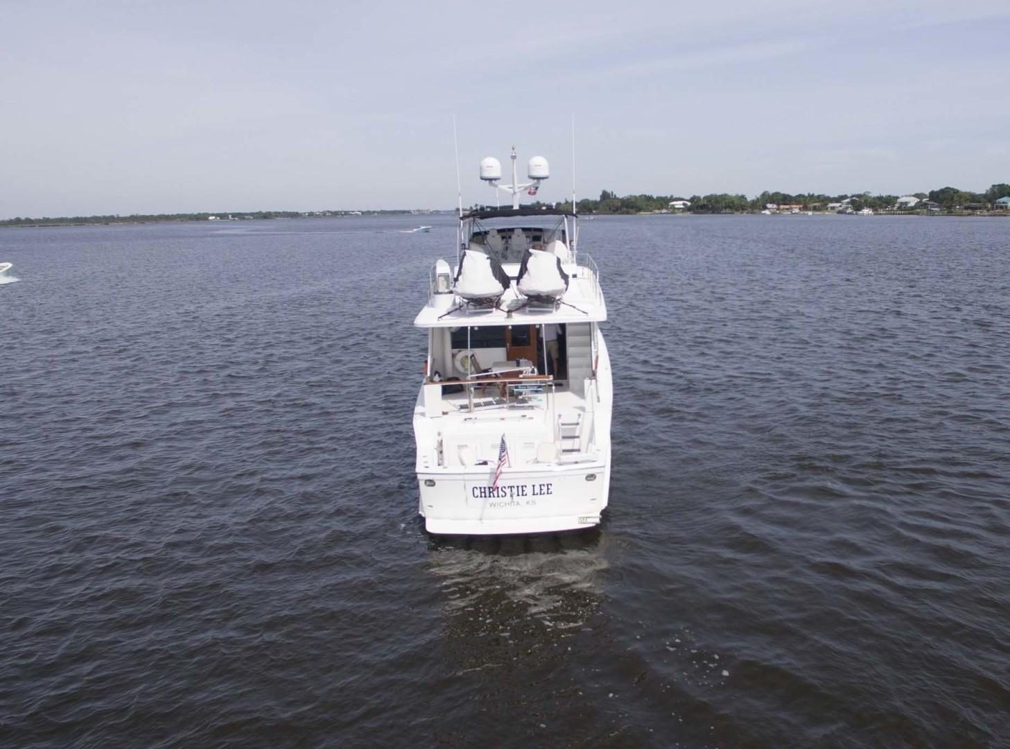 Hatteras-Motoryacht 1987-Christie Lee Stuart-Florida-United States-Stern View-1392662   Thumbnail