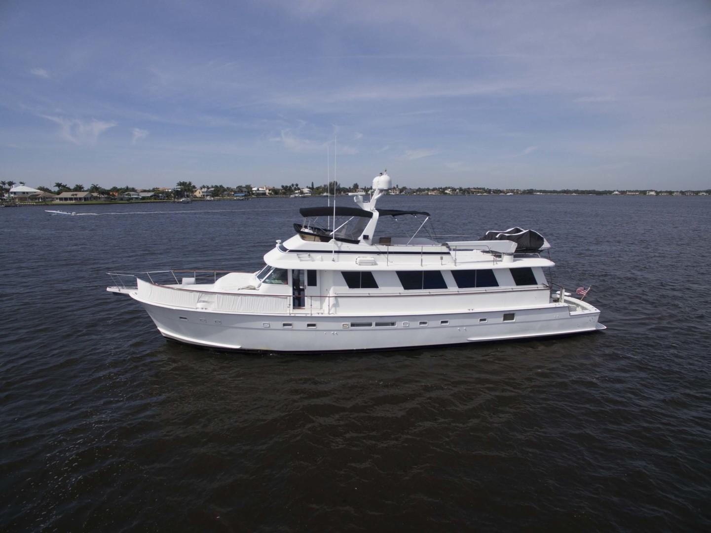 Hatteras-Motoryacht 1987-Christie Lee Stuart-Florida-United States-Port View-1392660   Thumbnail