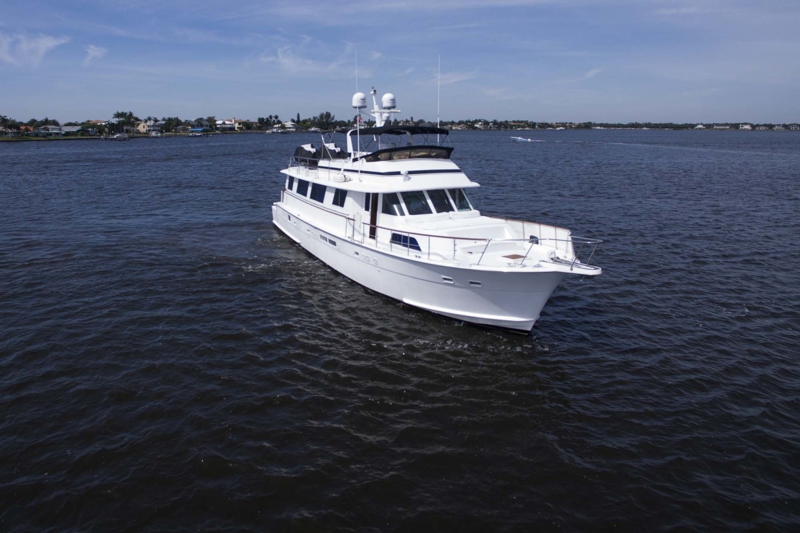 Hatteras-Motoryacht 1987-Christie Lee Stuart-Florida-United States-Starboard Bow-1392559   Thumbnail