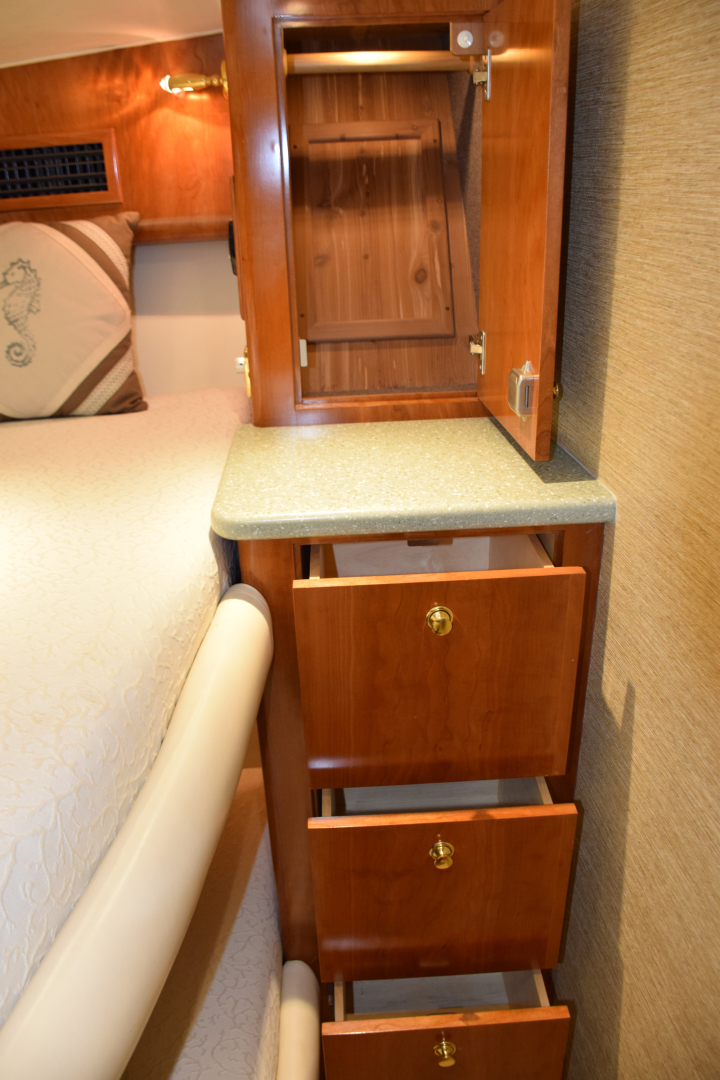 Sculley-Custom 60  Repowered & Gyro stabilized 2004-STEALIN TIME Singer Island-Florida-United States-Guest stateroom drawers-1490529 | Thumbnail
