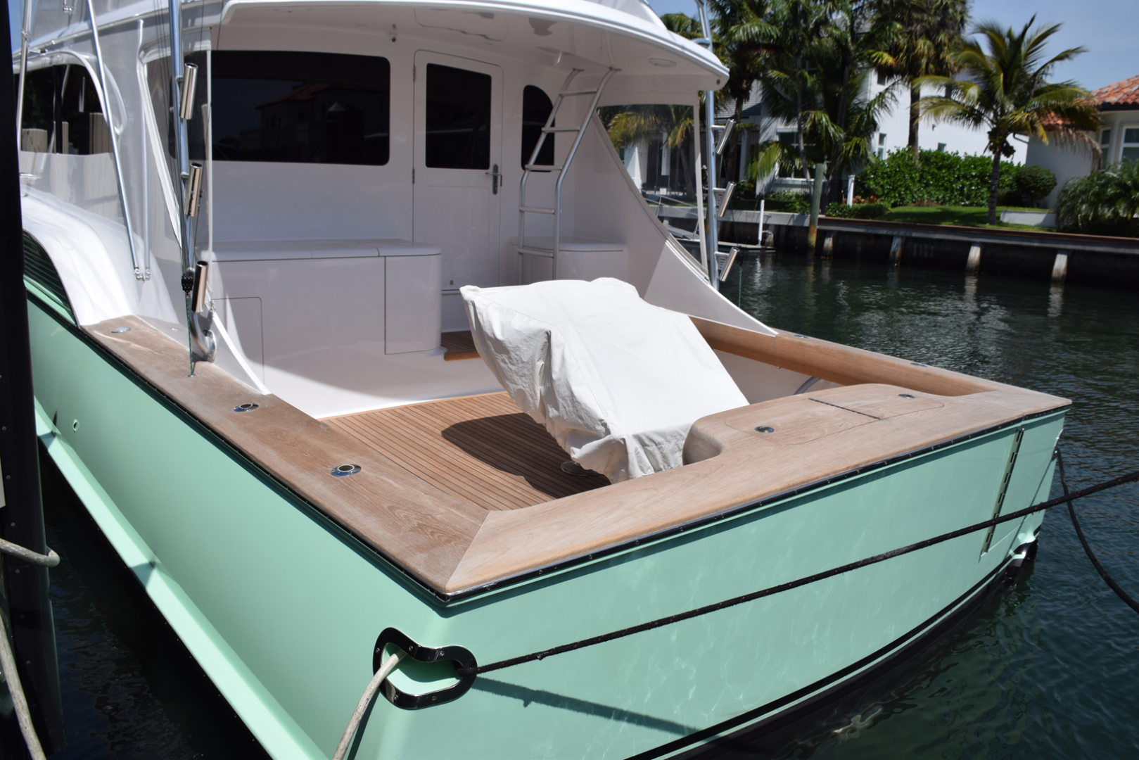 Sculley-Custom 60  Repowered & Gyro stabilized 2004-STEALIN TIME Singer Island-Florida-United States-Dockside cockpit-1490464 | Thumbnail