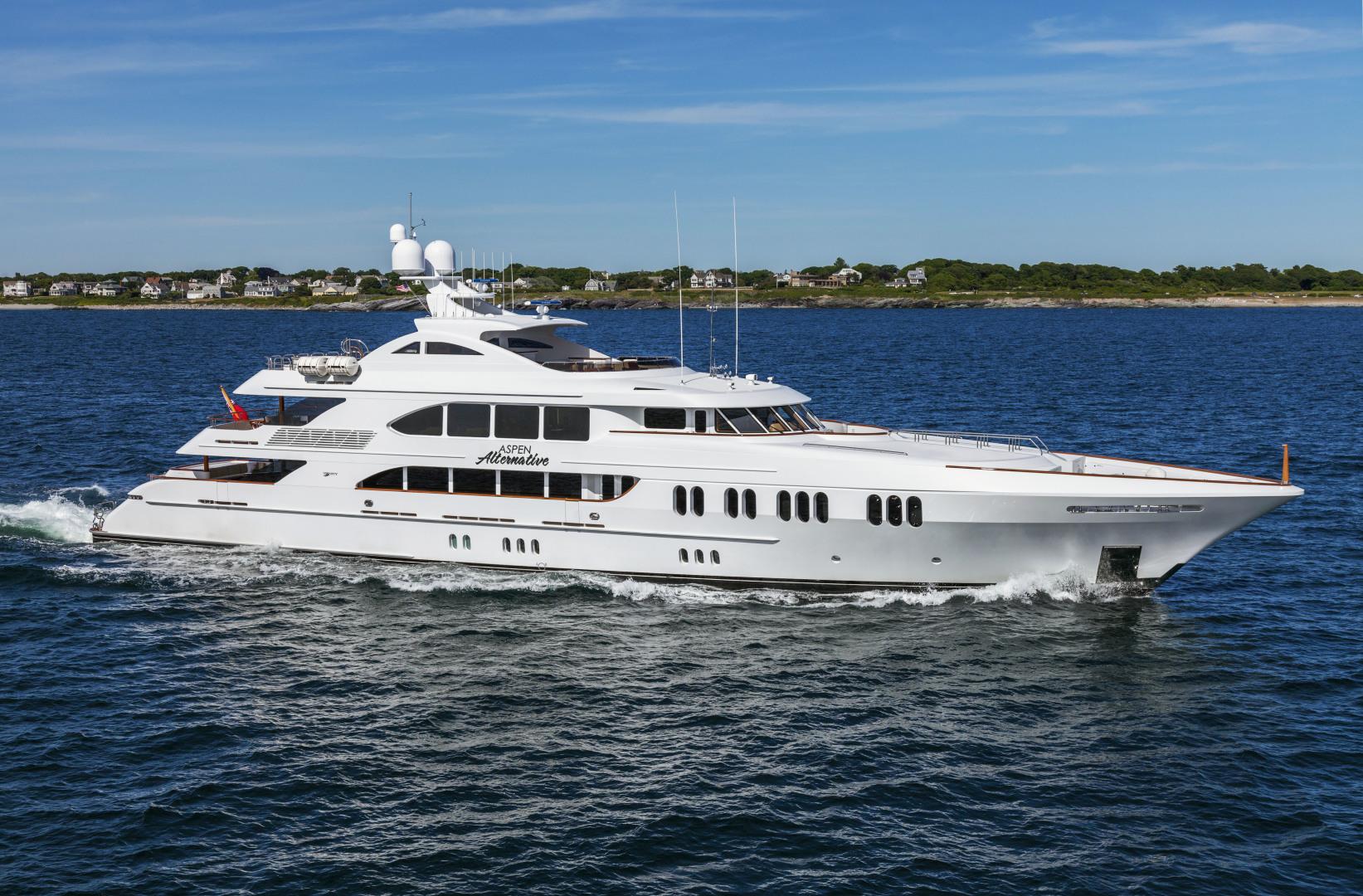 164' Trinity Yachts 2010 Tri-Deck Motor Yacht ASPEN ALTERNATIVE