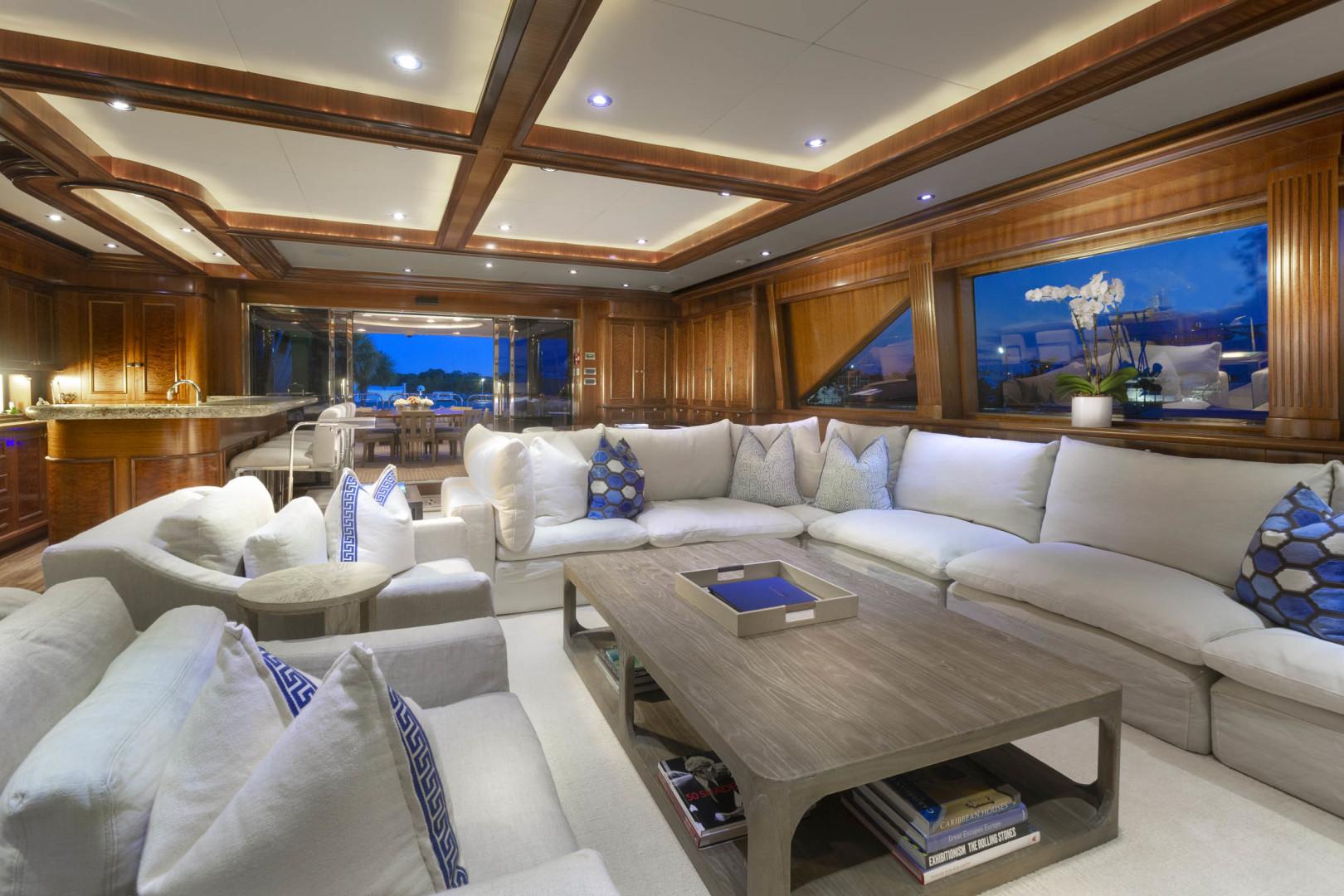 Richmond Yachts-Tri-Deck Motor Yacht 2008-FAR FROM IT St Thomas -Virgin Islands-Virgin Islands (US)-Sky Lounge-1394835 | Thumbnail