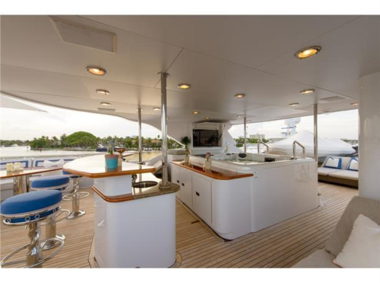 Richmond Yachts-Tri-Deck Motor Yacht 2008-FAR FROM IT St Thomas -Virgin Islands-Virgin Islands (US)-Sun Deck Cocktail Bar-1394852 | Thumbnail
