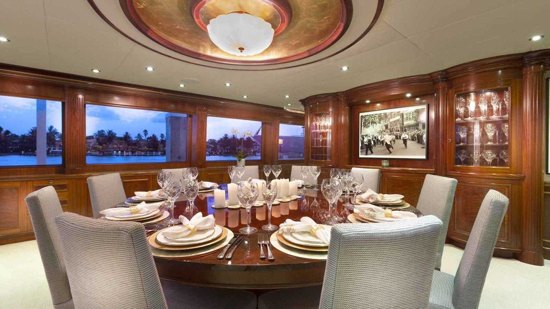 Richmond Yachts-Tri-Deck Motor Yacht 2008-FAR FROM IT St Thomas -Virgin Islands-Virgin Islands (US)-Dining-1394788 | Thumbnail
