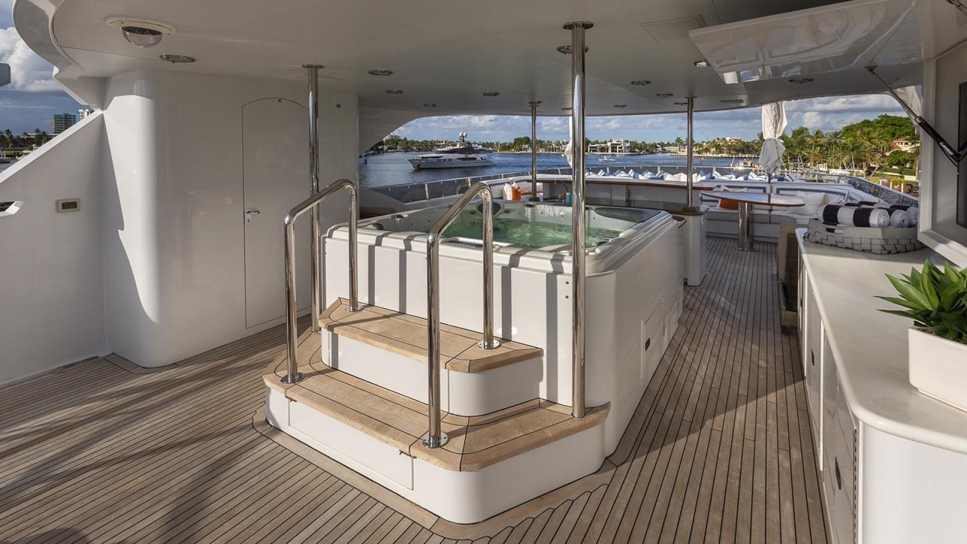 Richmond Yachts-Tri-Deck Motor Yacht 2008-FAR FROM IT St Thomas -Virgin Islands-Virgin Islands (US)-Sun Deck Jacuzzi-1394805 | Thumbnail