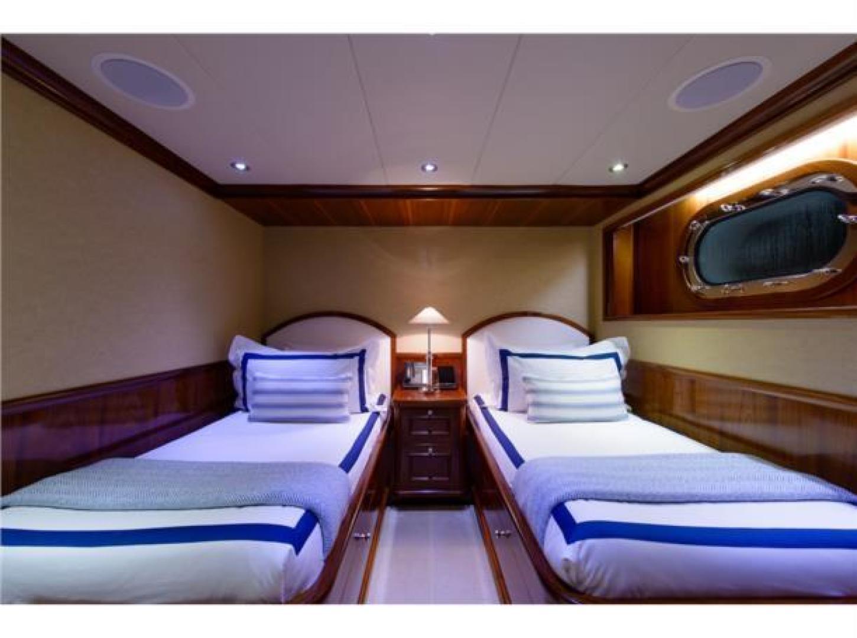 Richmond Yachts-Tri-Deck Motor Yacht 2008-FAR FROM IT St Thomas -Virgin Islands-Virgin Islands (US)-Guest Stateroom Twin-1394851 | Thumbnail