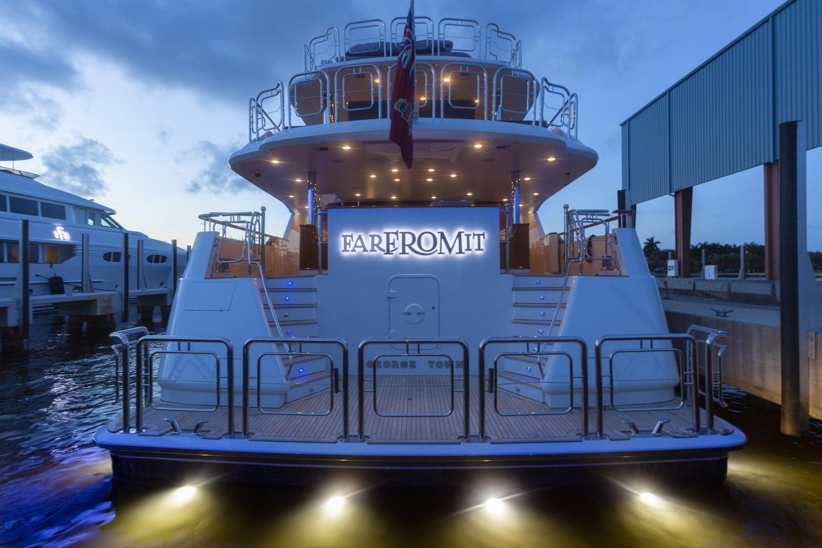 Richmond Yachts-Tri-Deck Motor Yacht 2008-FAR FROM IT St Thomas -Virgin Islands-Virgin Islands (US)-Stern-1394845 | Thumbnail