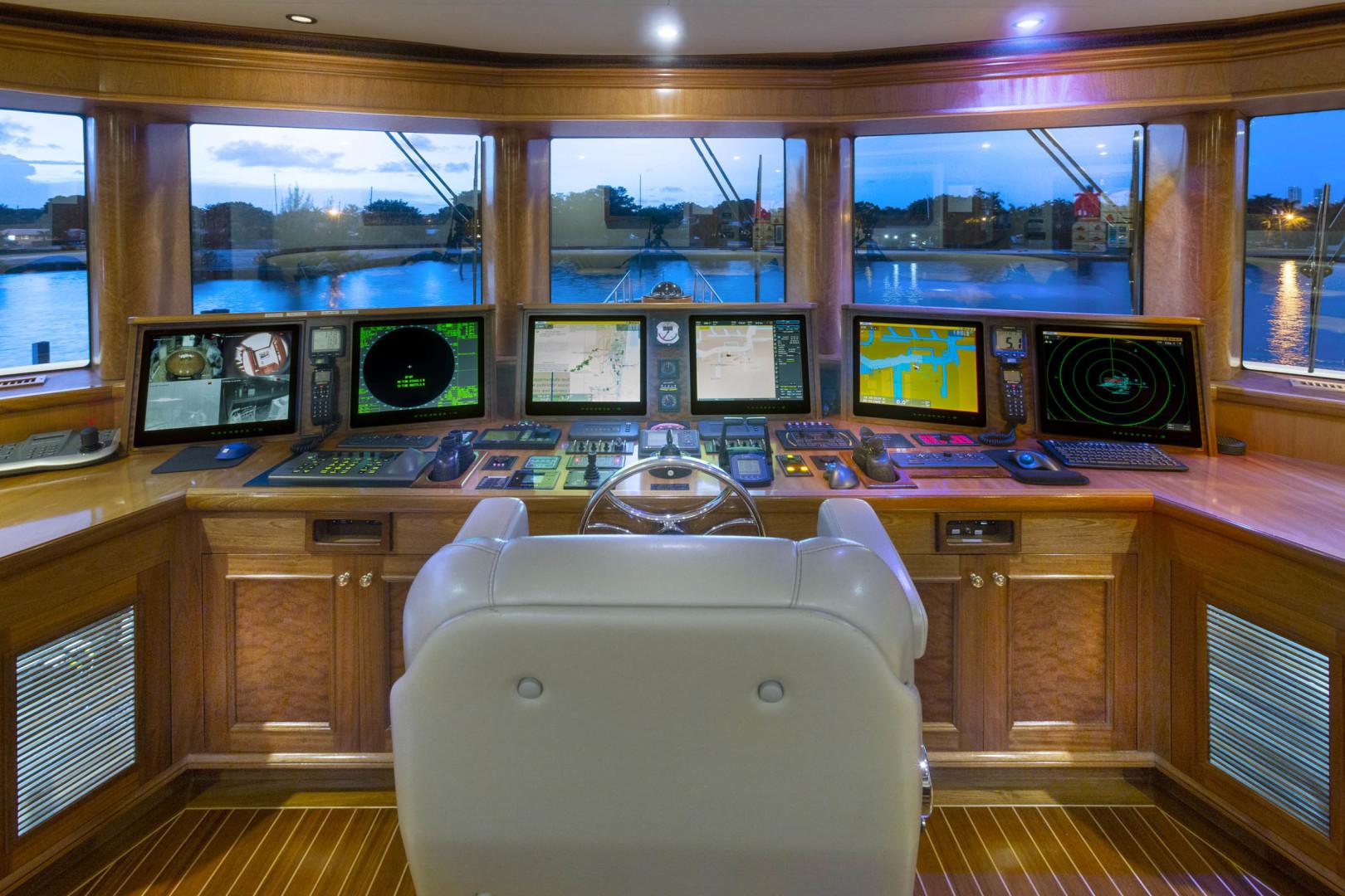 Richmond Yachts-Tri-Deck Motor Yacht 2008-FAR FROM IT St Thomas -Virgin Islands-Virgin Islands (US)-Wheel House-1394812 | Thumbnail