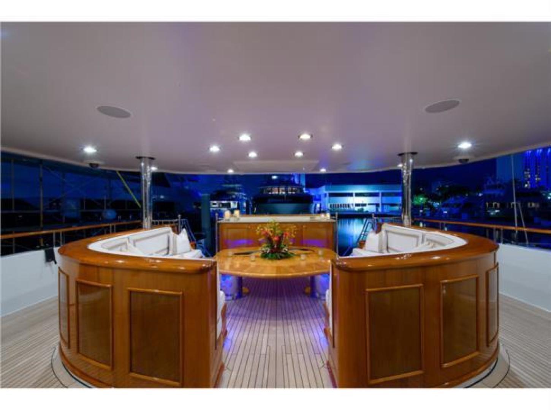 Richmond Yachts-Tri-Deck Motor Yacht 2008-FAR FROM IT St Thomas -Virgin Islands-Virgin Islands (US)-Main Deck Aft -1394846 | Thumbnail