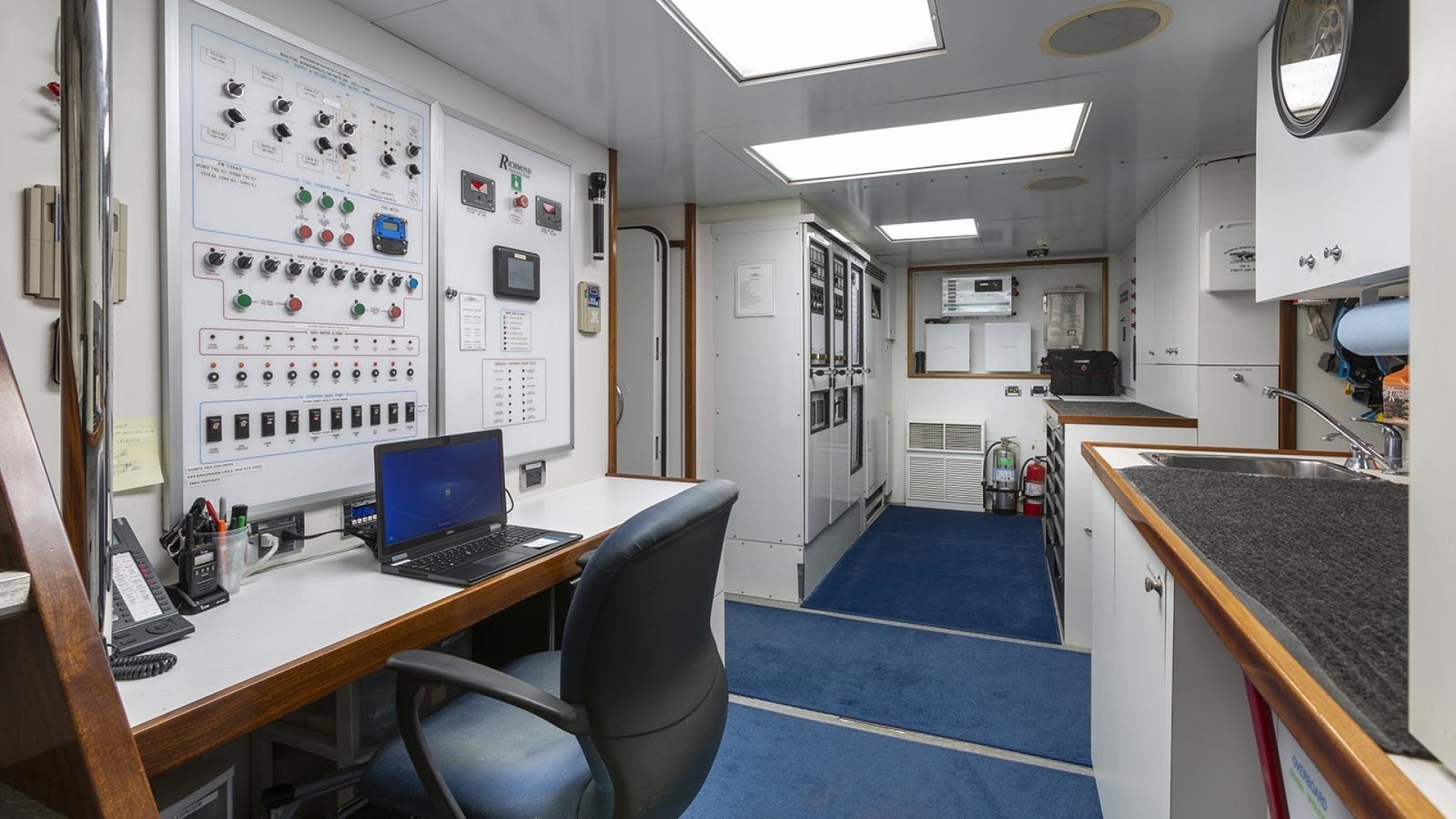 Richmond Yachts-Tri-Deck Motor Yacht 2008-FAR FROM IT St Thomas -Virgin Islands-Virgin Islands (US)-Control Room-1394790 | Thumbnail