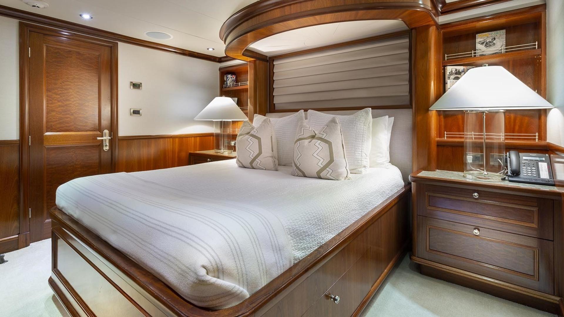 Richmond Yachts-Tri-Deck Motor Yacht 2008-FAR FROM IT St Thomas -Virgin Islands-Virgin Islands (US)-VIP Stateroom  Bridge Deck -1394792 | Thumbnail