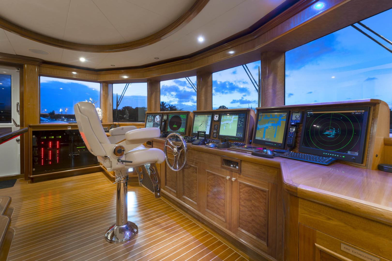 Richmond Yachts-Tri-Deck Motor Yacht 2008-FAR FROM IT St Thomas -Virgin Islands-Virgin Islands (US)-Wheel House -1394813 | Thumbnail