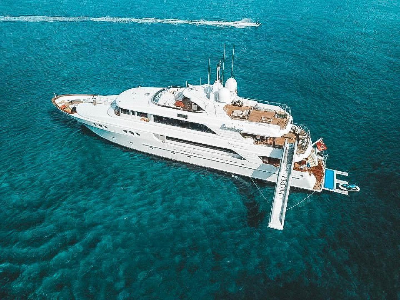 Richmond Yachts-Tri-Deck Motor Yacht 2008-FAR FROM IT St Thomas -Virgin Islands-Virgin Islands (US)-Aerial-1394785 | Thumbnail