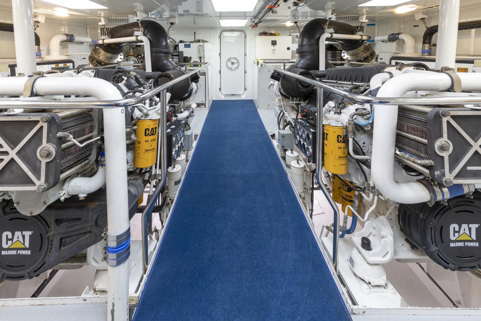 Richmond Yachts-Tri-Deck Motor Yacht 2008-FAR FROM IT St Thomas -Virgin Islands-Virgin Islands (US)-Engine Room-1394817 | Thumbnail