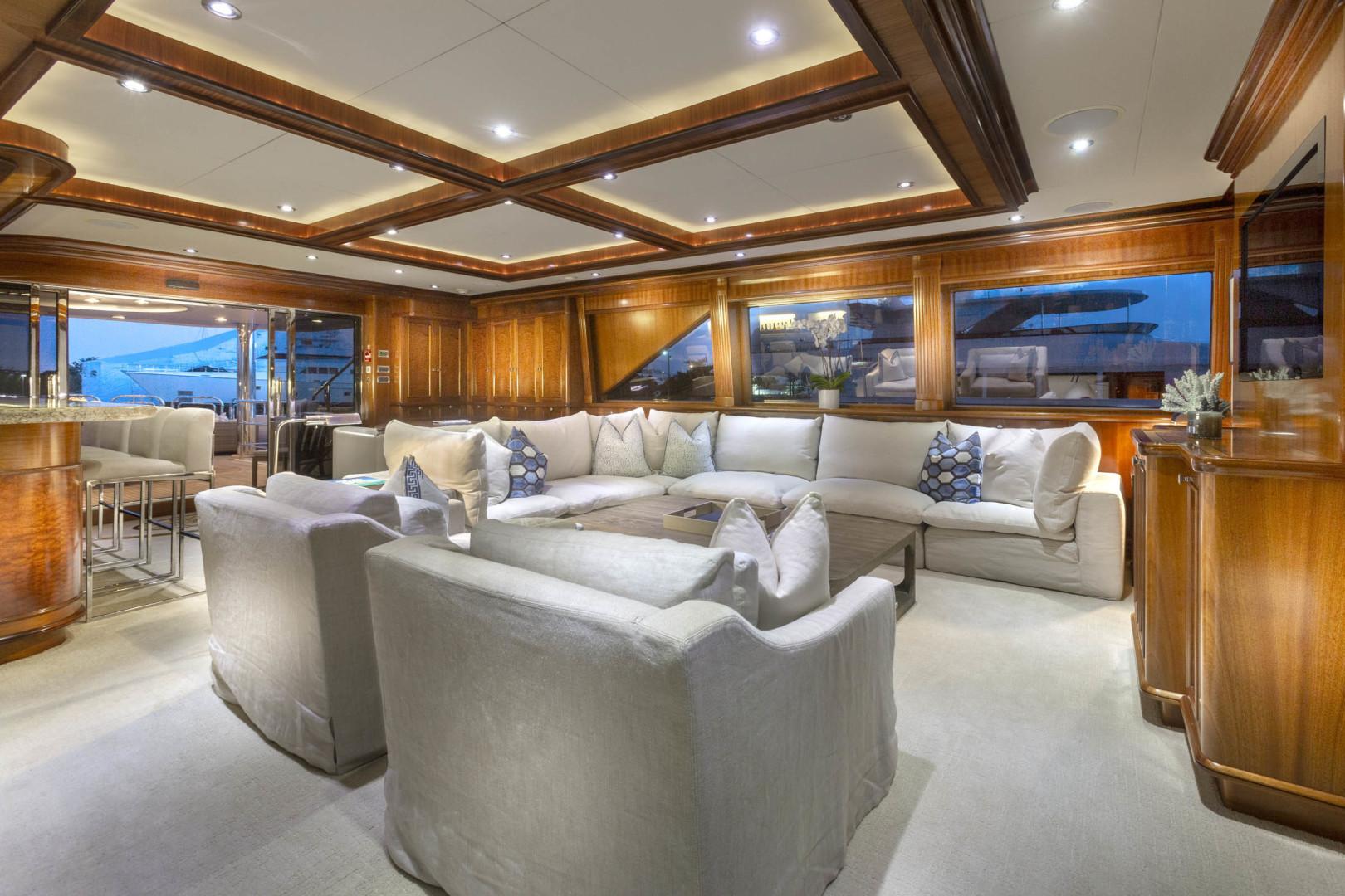 Richmond Yachts-Tri-Deck Motor Yacht 2008-FAR FROM IT St Thomas -Virgin Islands-Virgin Islands (US)-Sky Lounge -1394834 | Thumbnail